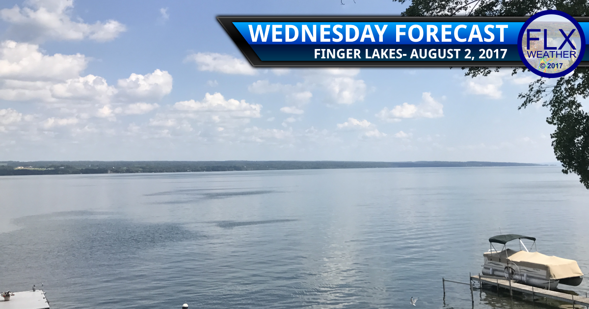 finger lakes weather forecast summer heat hot above normal temperatures thunderstorms