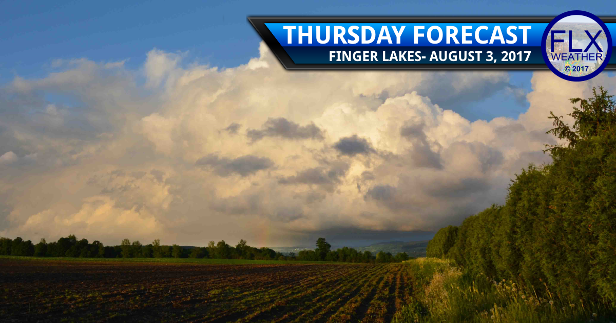 finger lakes weather forecast thunderstorms hot temperatures