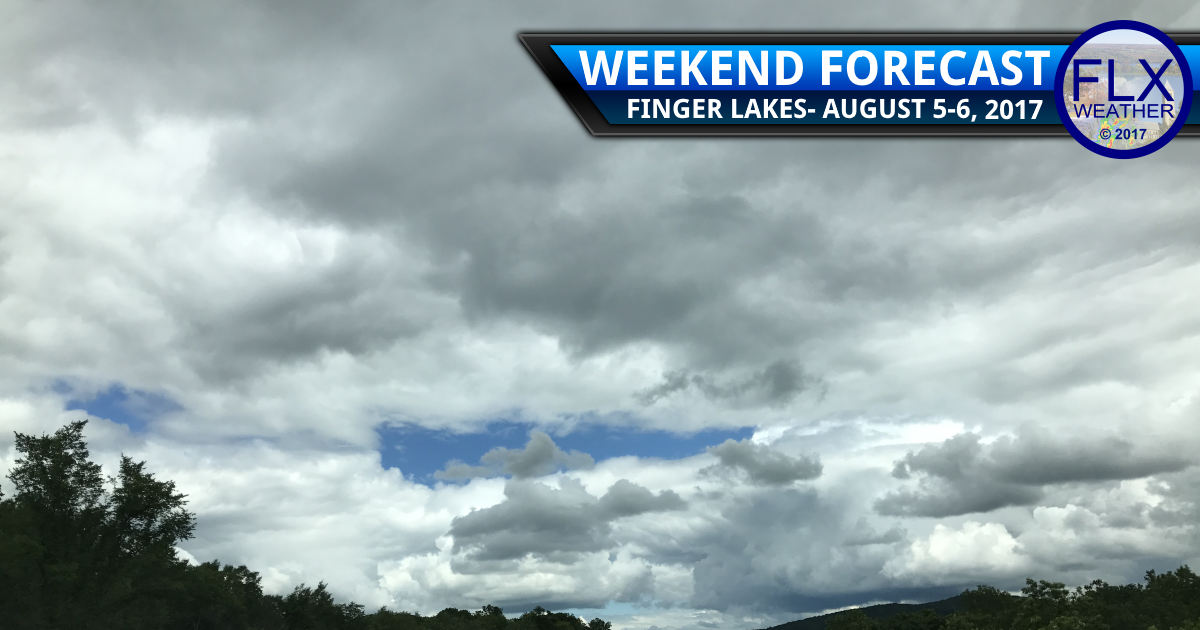 Cooler weather settles into the Finger Lakes for the weekend
