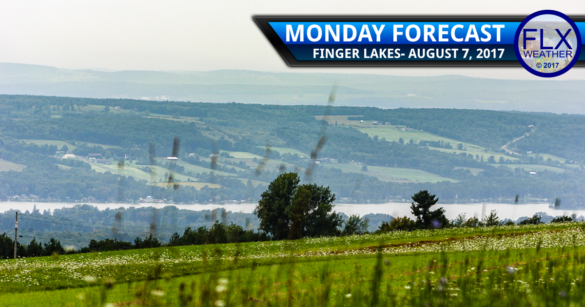 finger lakes weather forecast monday august 7 2017 rain showers thunderstorms