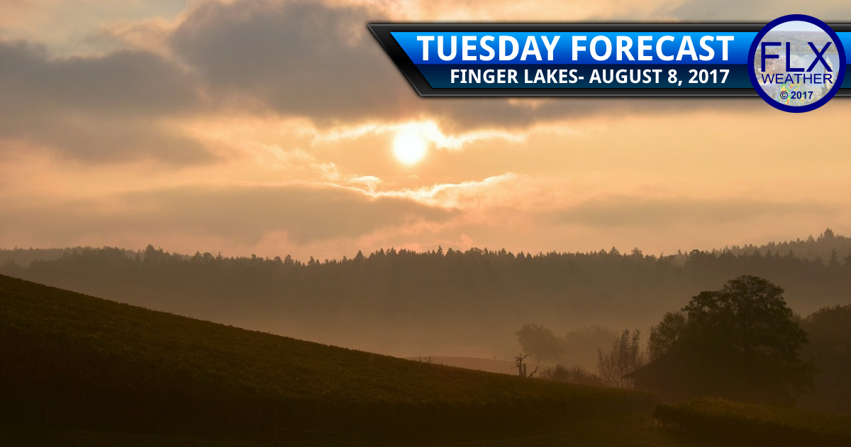 Fog and sunshine for the Finger Lakes