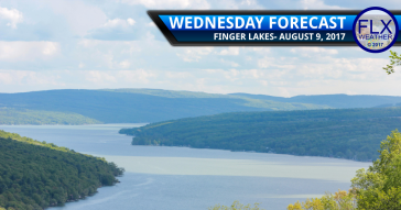 Temperatures back to normal in the Finger Lakes