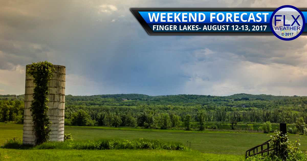 A few Saturday showers in an otherwise fine weekend
