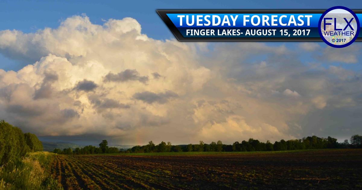 finger lakes weather forecast tuesday rain