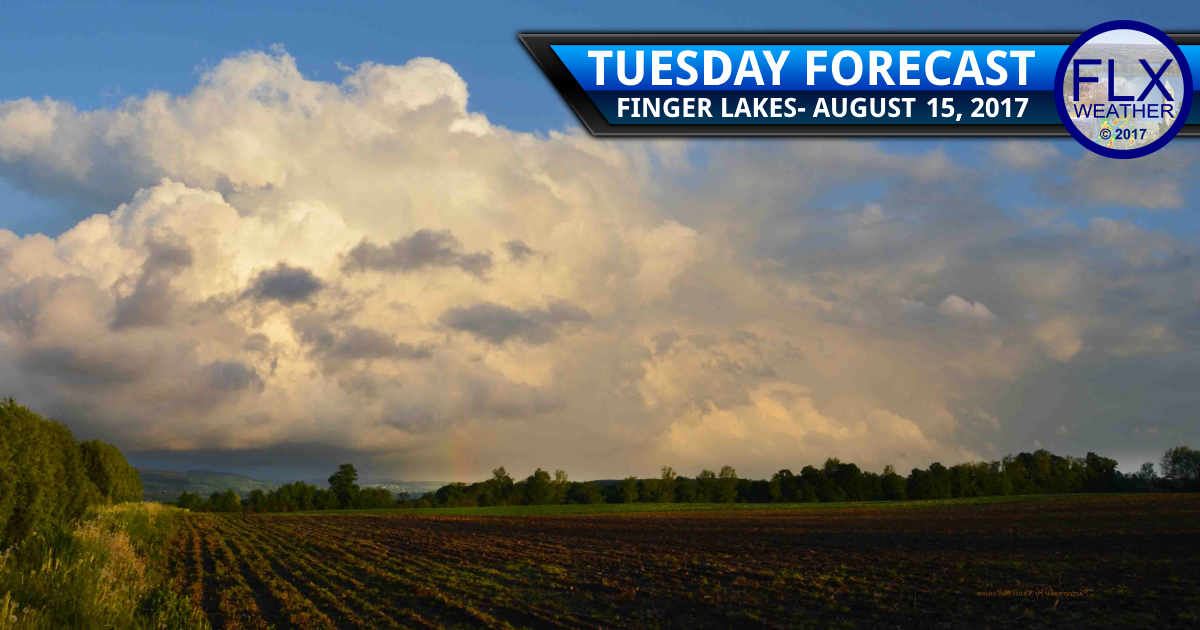 finger lakes weather forecast tuesday rain