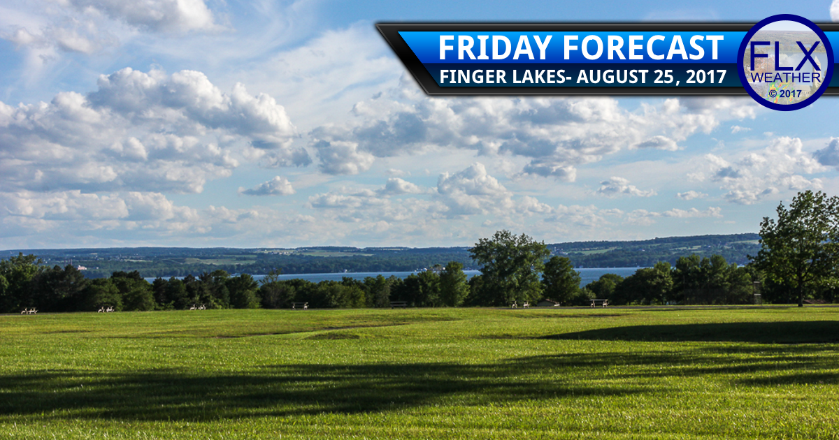 Weather continues to get nicer and nicer for the Finger Lakes