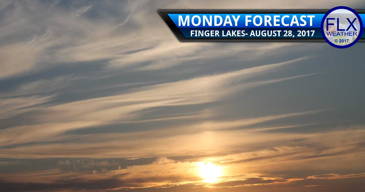 Weather remains tranquil in the Finger Lakes