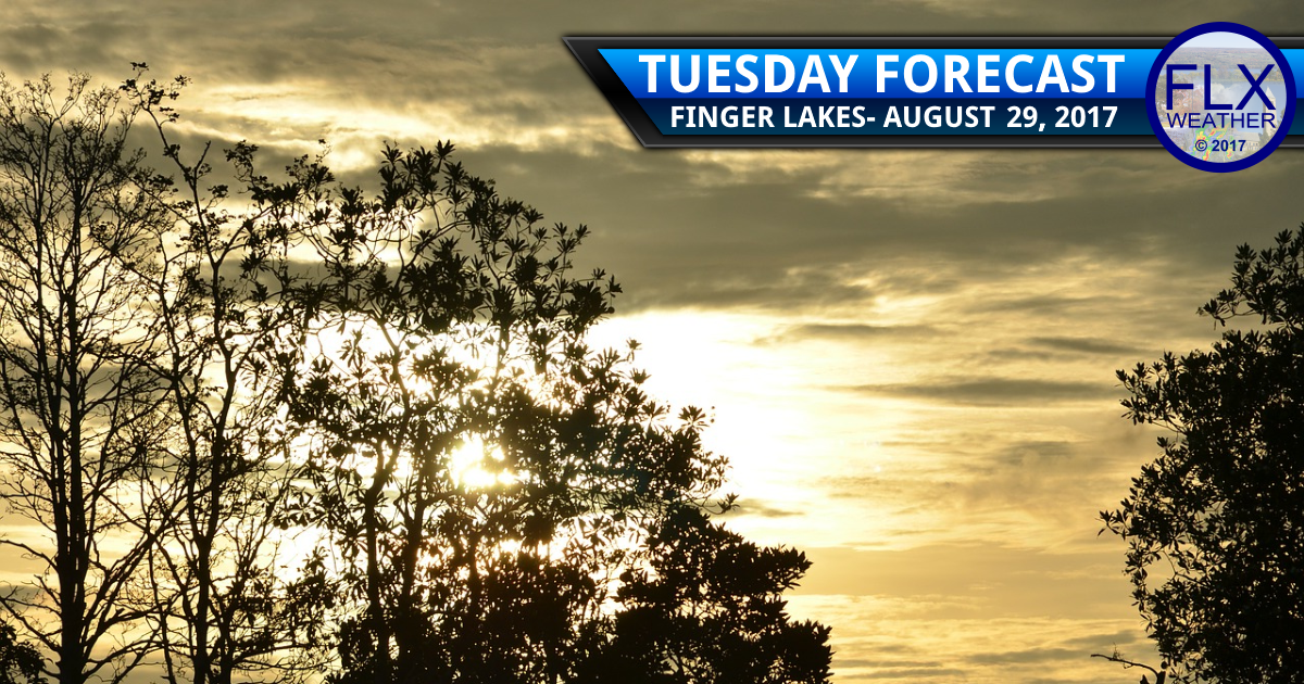 finger lakes weather forecast sun clouds temperatures