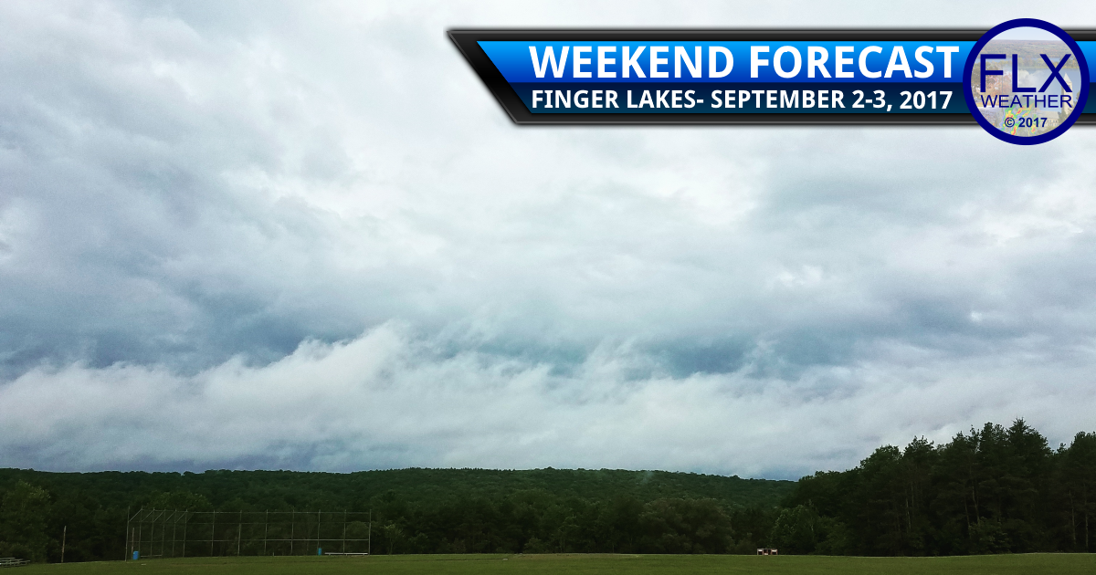 Labor Day Weekend Rain in the Finger Lakes- When and How Much