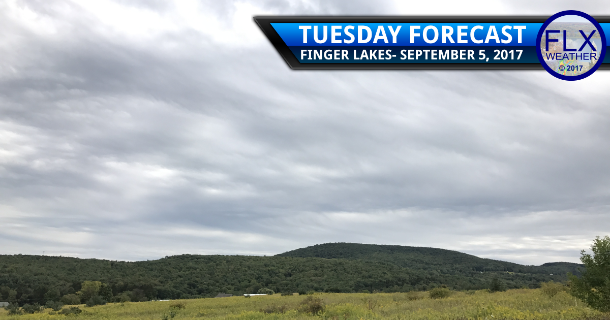 Cool, showery weather returns to the Finger Lakes
