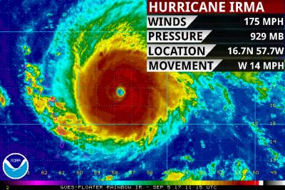 finger lakes weather hurricane irma information tuesday september 5 2017