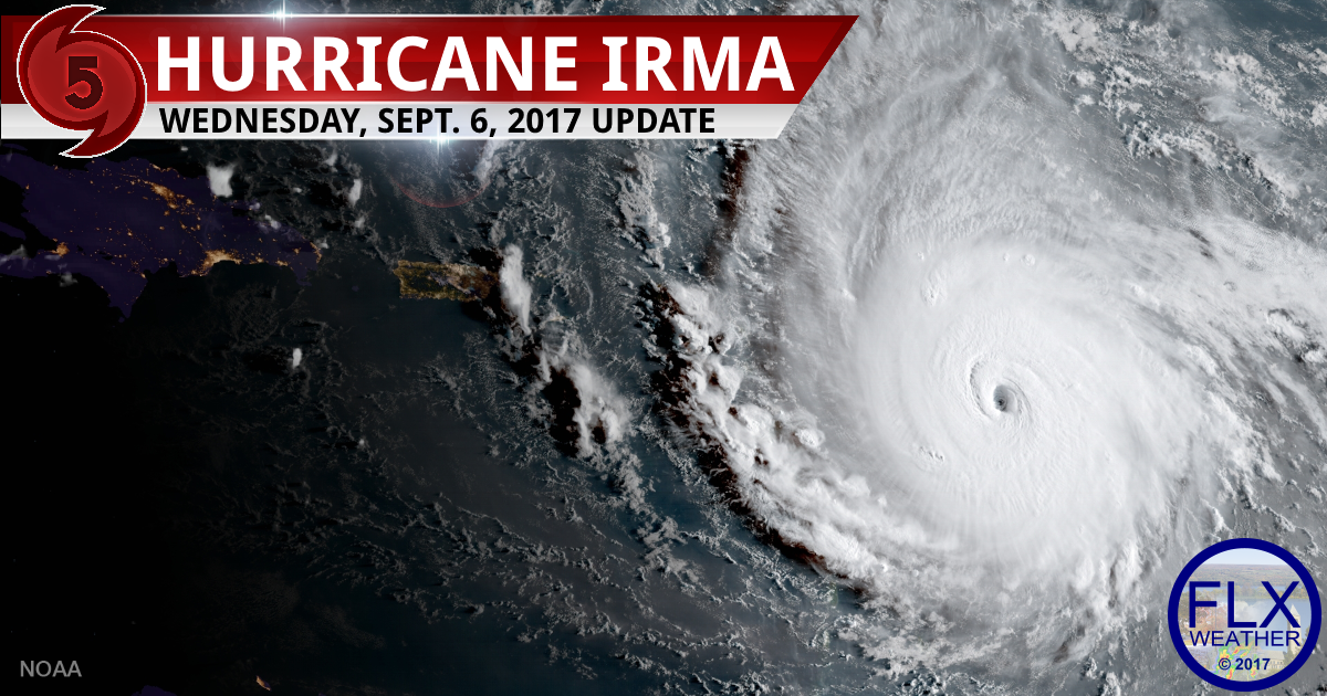 hurricane irma forecast track information update