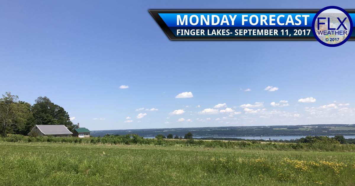 Nice week ahead as temperatures warm in the Finger Lakes