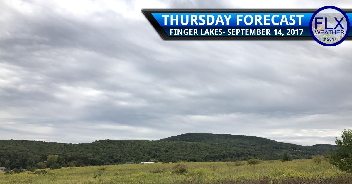 finger lakes weather forecast rain downpour flooding