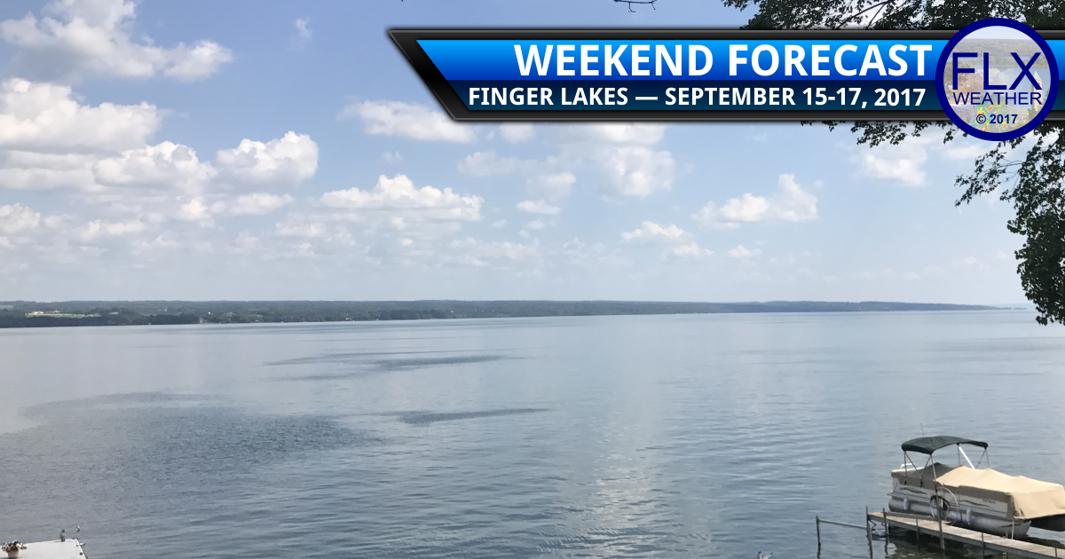 Amazing weekend weather for the Finger Lakes