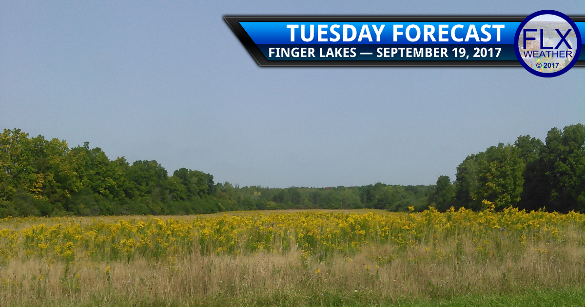 No rain in the Finger Lakes for the foreseeable future
