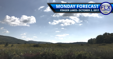 October starts sunny and mild in the Finger Lakes