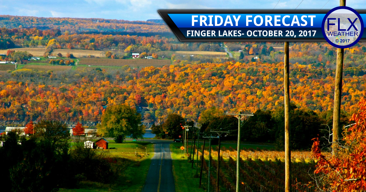 A touch cooler Friday before a great weekend