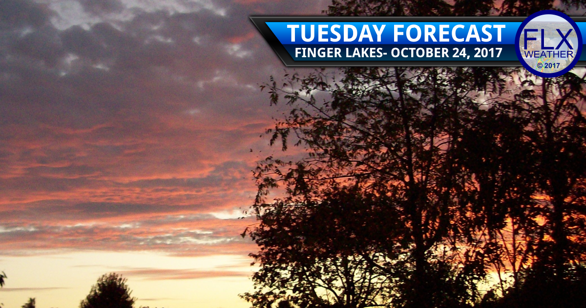 finger lakes weather forecast sun clouds dry windy