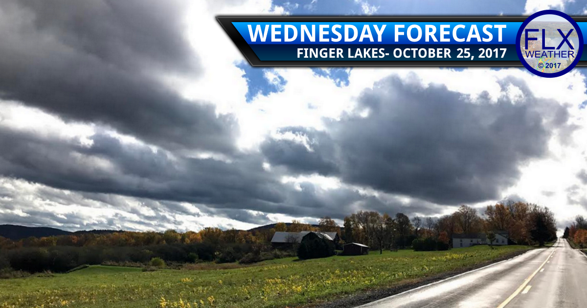 Cooler air settles into the Finger Lakes