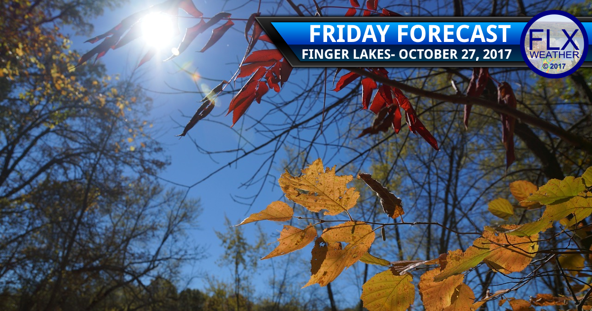 Weather improves in the Finger Lakes for Friday & Saturday
