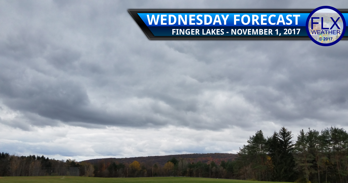 Light rain moves back into the Finger Lakes ahead of warmer temperatures
