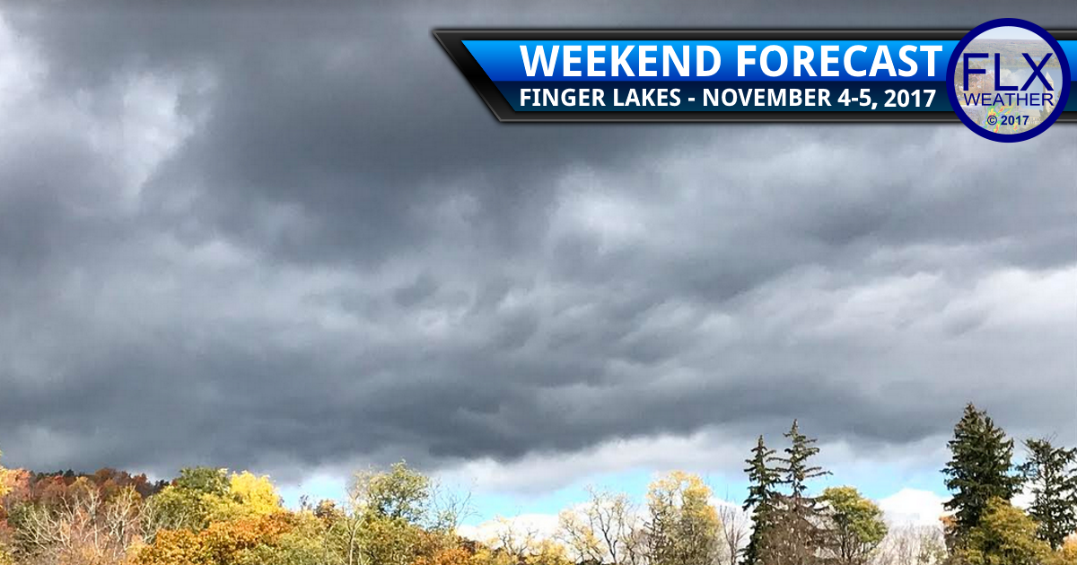 Finger Lakes Weekend Weather: Nov. 4-5, 2017