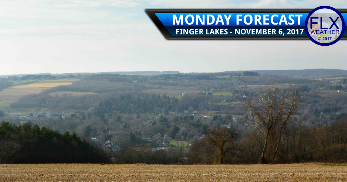 Temperatures fall across the Finger Lakes Monday