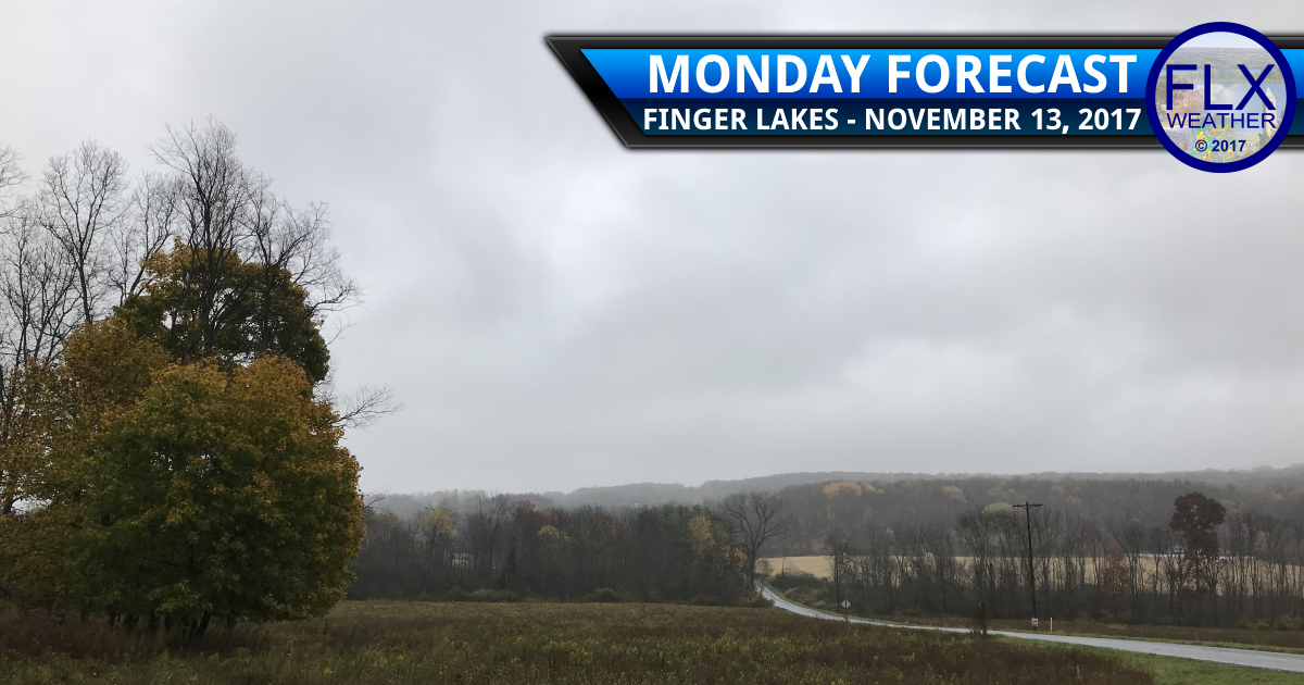 Classically dreary November weather for the Finger Lakes