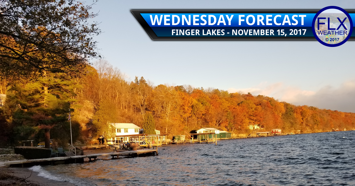 Rain returns to the Finger Lakes after some early sun