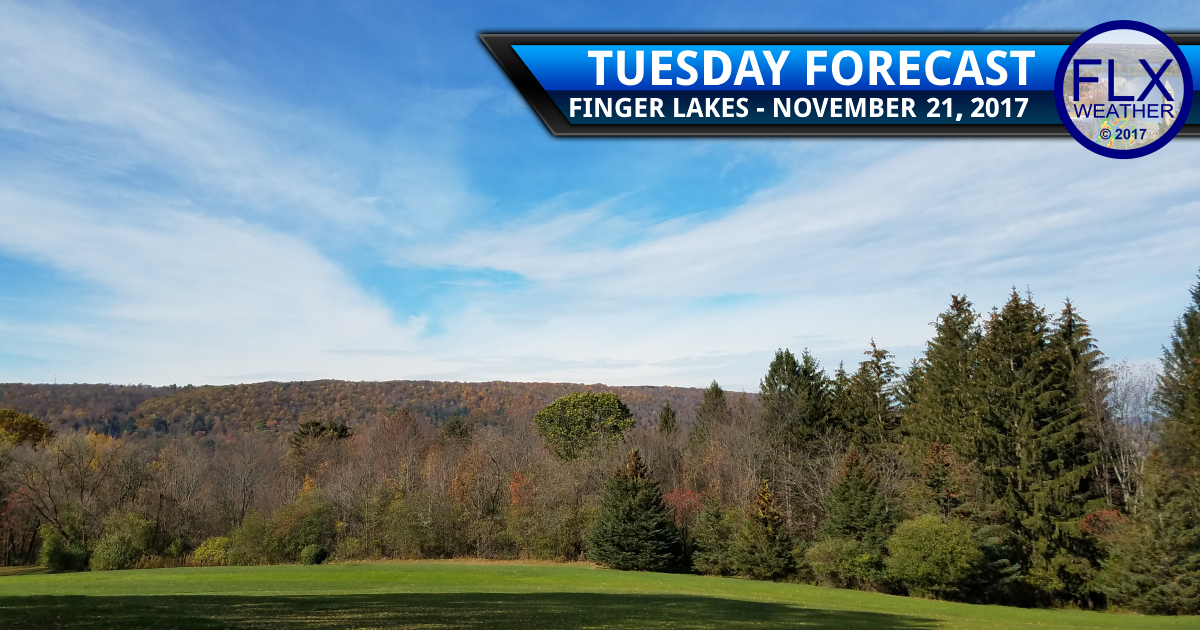 Mild with some sunshine for Tuesday Travel