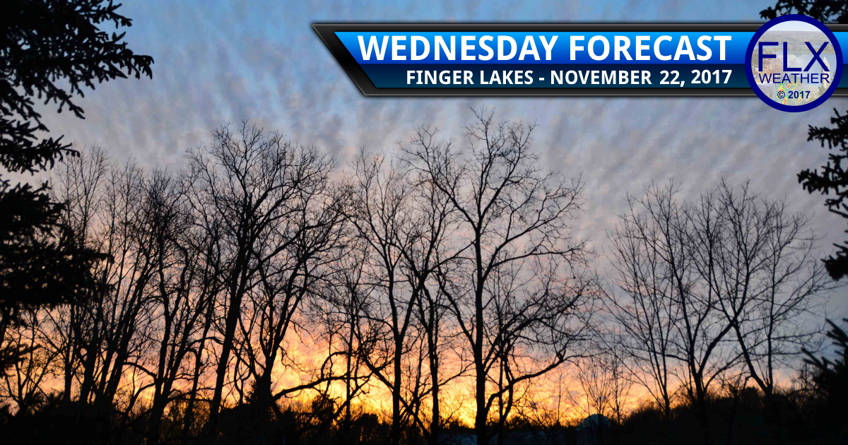 Quiet weather for Thanksgiving in the Finger Lakes
