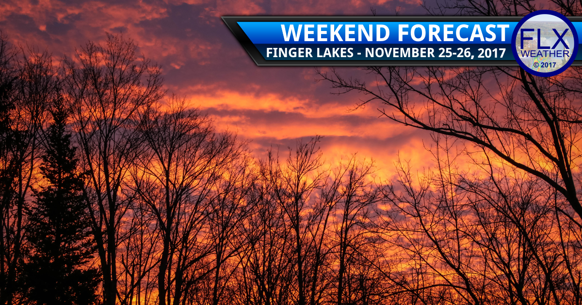 Weekend cold front brings changing weather conditions to the Finger Lakes