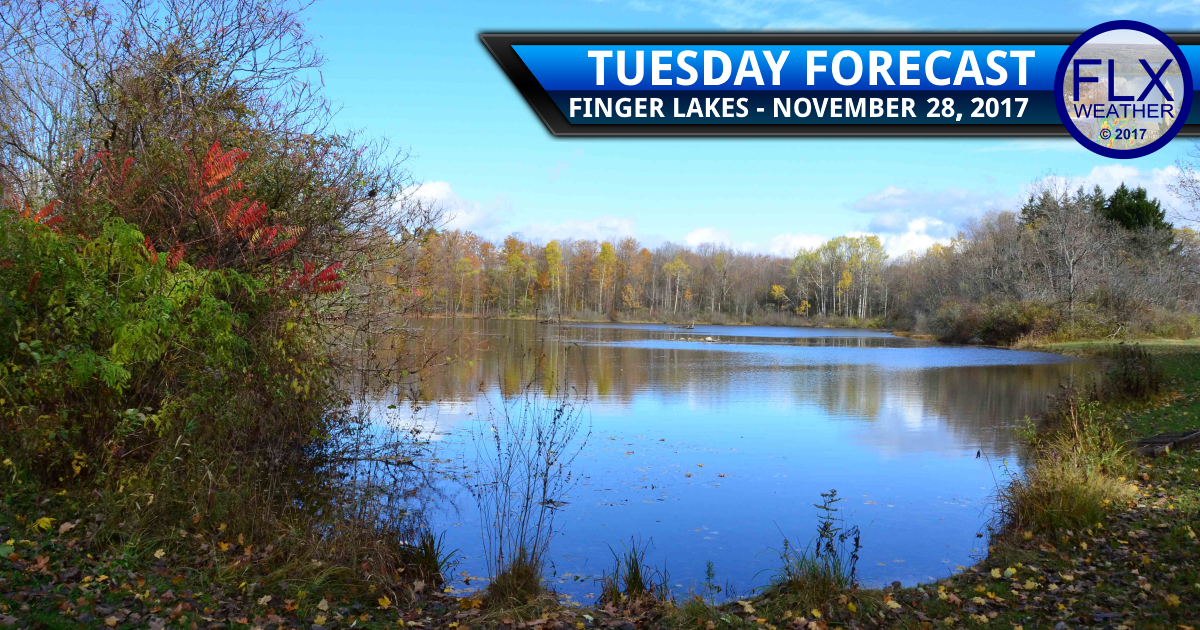 finger lakes weather forecast sunny mild tuesday november 28 2017