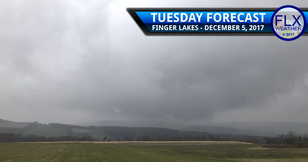 finger lakes weather forecast rain wind cold front tuesday december 5 2017
