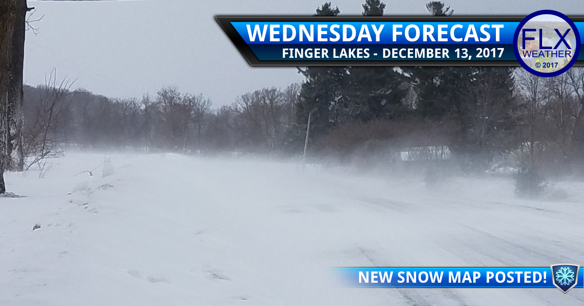 Wintry Wednesday in the Finger Lakes