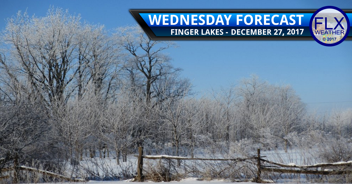 finger lakes weather forecast wednesday december 27 2017 cold frigid wind chill lake effect snow