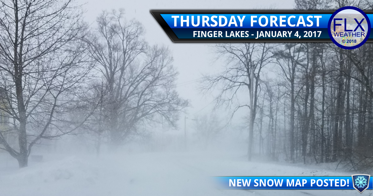 finger lakes weather forecast thursday january 4 2018 arctic cold lake effect snow map wind chill warning