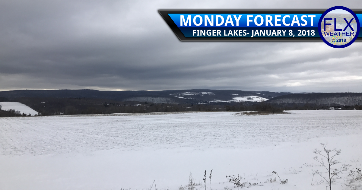 finger lakes weather forecast light precipitation rain snow sleet freezing rain monday janaury 8 2018