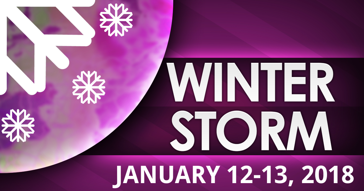 January 12-13 Finger Lakes Winter Storm: Maps, Information, and Updates