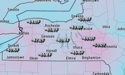 finger lakes weather temperature change drop cold saturday january 13 2018