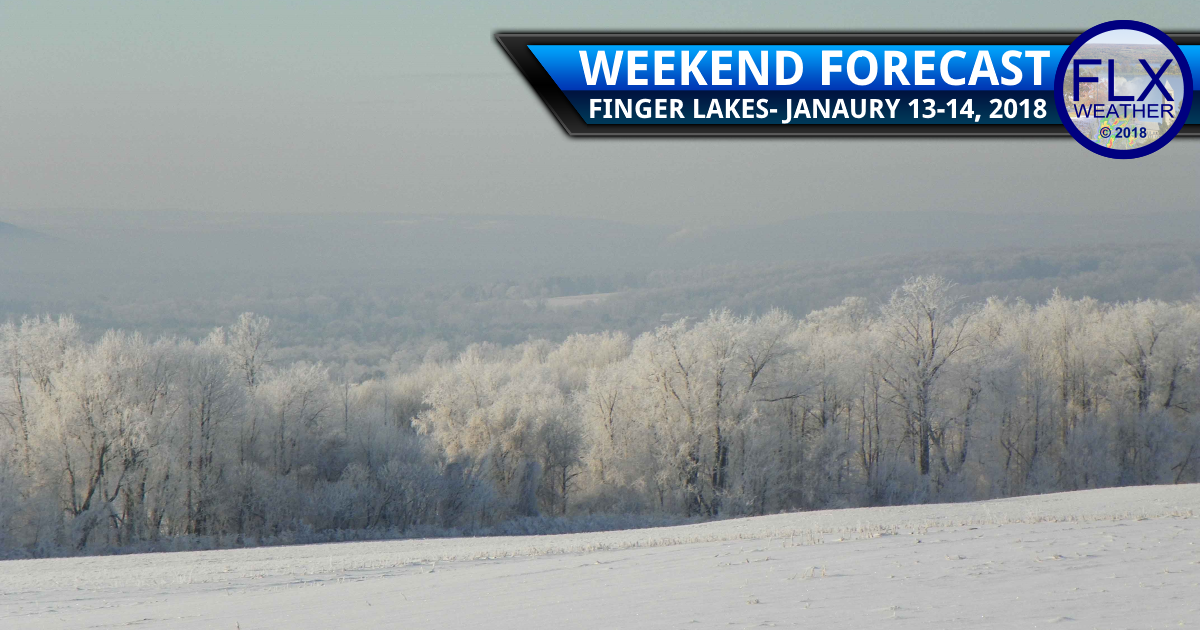 Cold weekend as storm departs Finger Lakes
