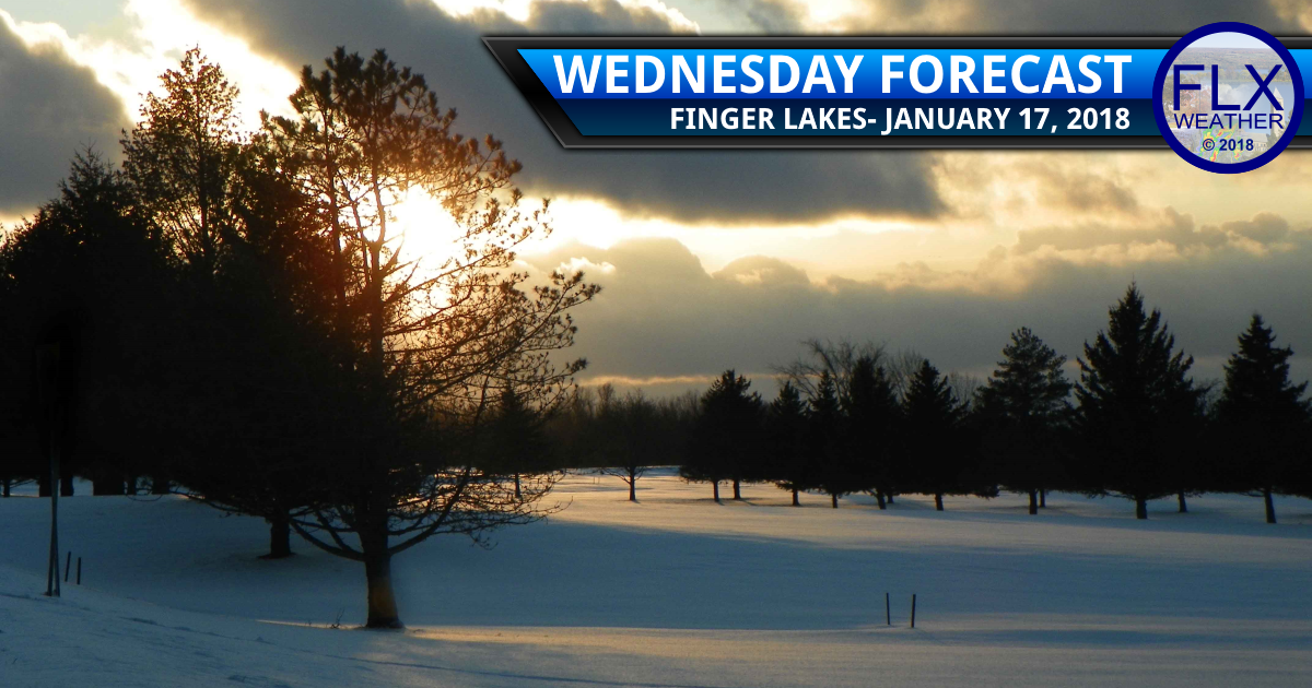 Quieter weather builds into the Finger Lakes