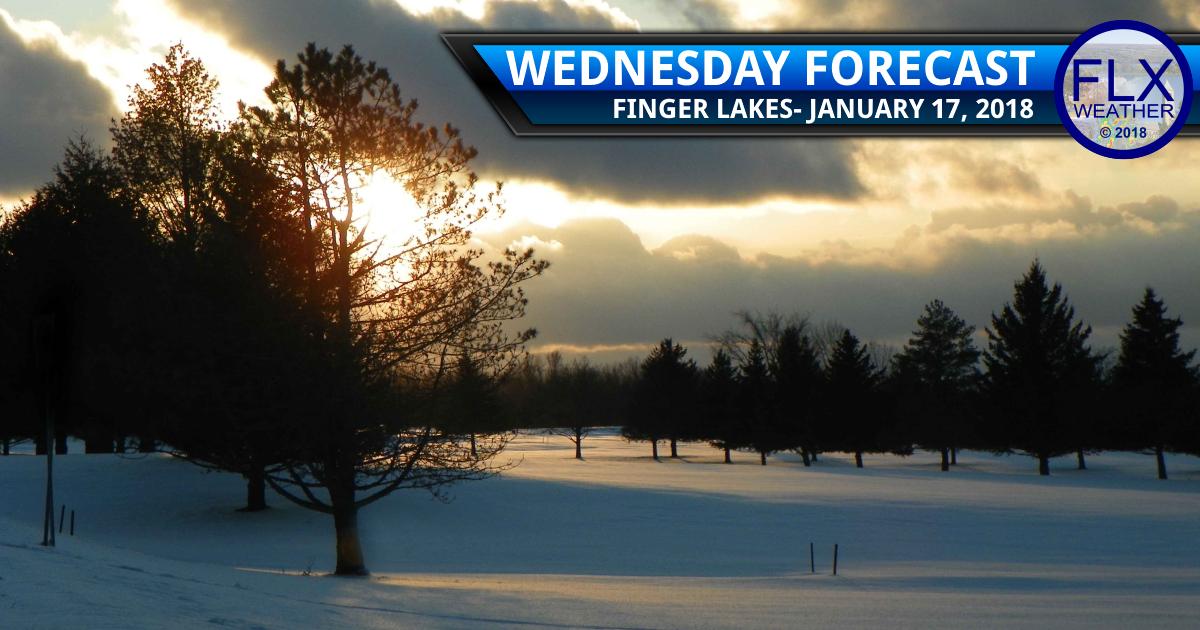 finger lakes weather forecast wednesday january 17 2018
