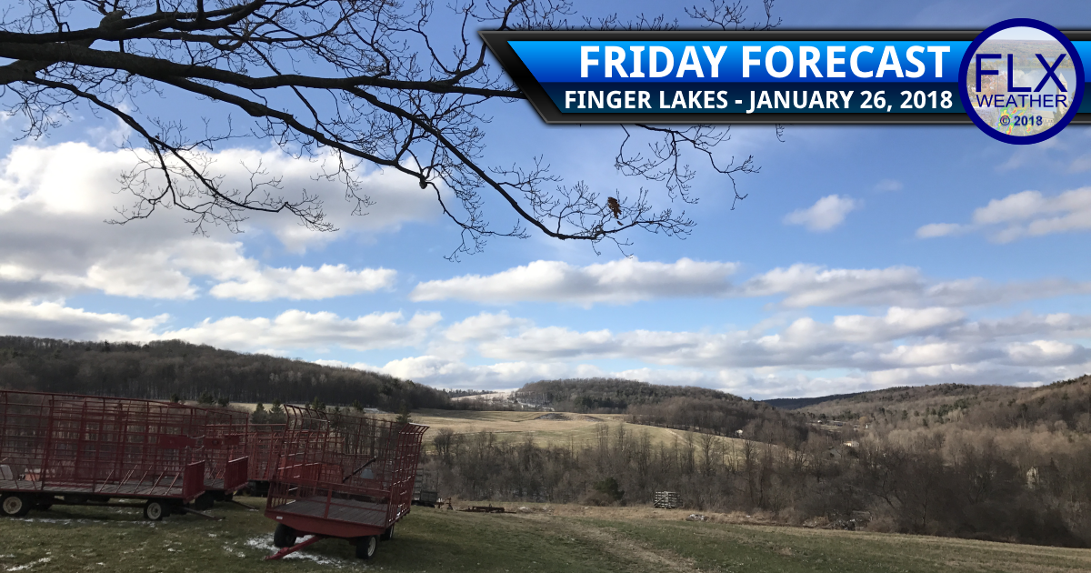 Sunny and warmer Friday in the Finger Lakes