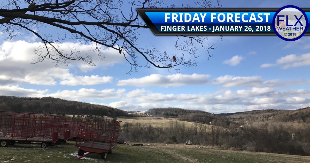 finger lakes weather forecast friday january 26 2018 sunny weekend rain