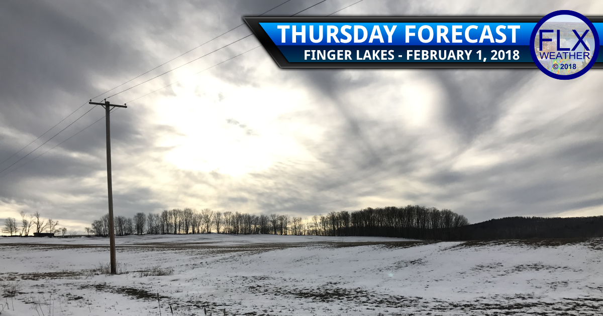 finger lakes weather forecast thursday february 1 2018 cold front squall lake effect snow