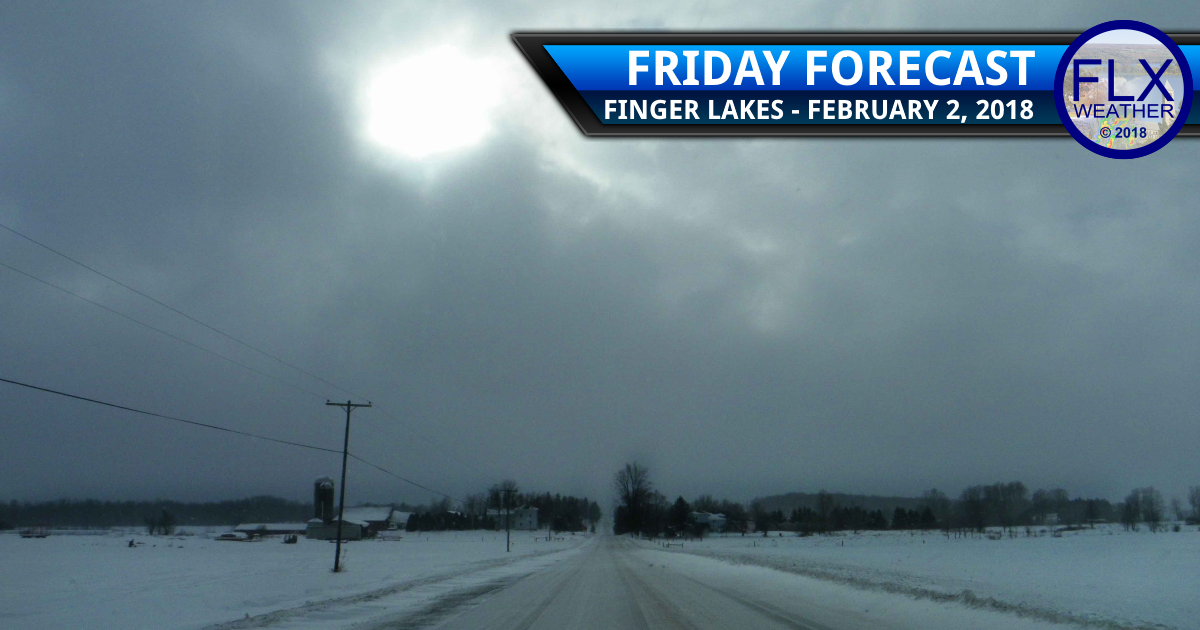 Lake effect squalls Friday in the Finger Lakes