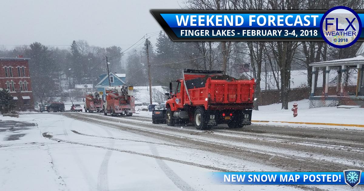 finger lakes weather forecast snow map sunday february 4 2018