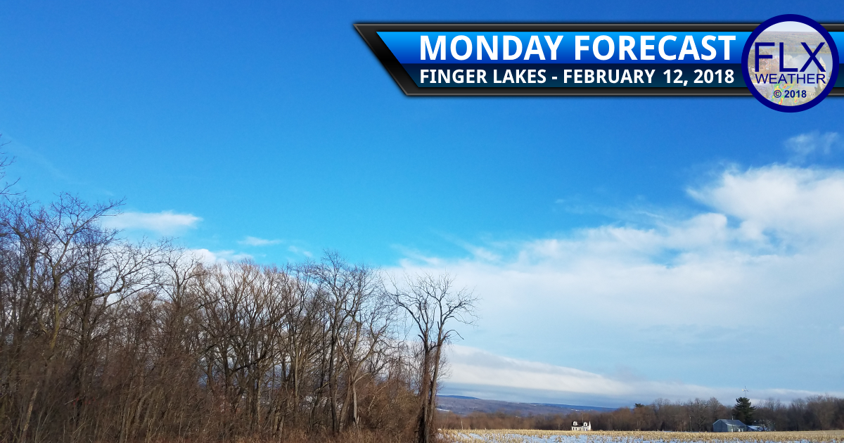 finger lakes weather forecast monday february 12 2018 sun warm above normal temperatures